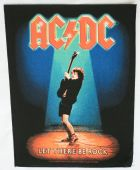 AC/DC - 'Let There Be Rock' Giant Backpatch